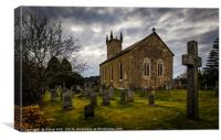 Fintry Kirk, Canvas Print