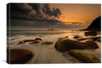 Beautiful Porth Nanven, Canvas Print