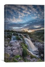 Sunset at Loup O FIntry, Canvas Print