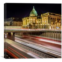 The Mitchell Library in  Glasgow, Canvas Print