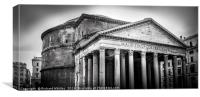 The Pantheon, Canvas Print