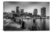 Boston Skyline, Canvas Print
