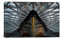 Cutty Sark or is it a weeping penguin, Canvas Print