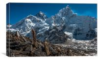 'The Worlds Highest', Canvas Print