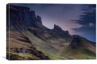 The Quiraing 2, Canvas Print