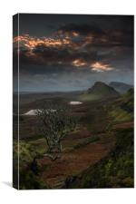 The Quiraing 3, Canvas Print