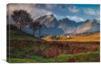 Bla Bheinn Morning, Canvas Print