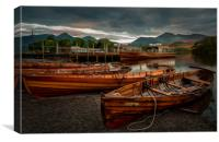 Derwent Boats, Canvas Print
