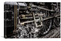 Steam & Grease, Canvas Print