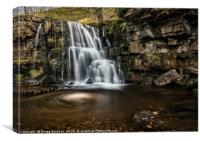 East Gill Force, Canvas Print