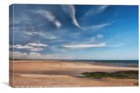 West Sands at St Andrews, Canvas Print