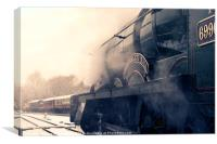 Witherslack Hall , Canvas Print