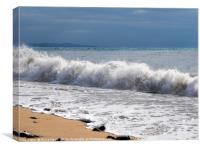 Stormy Sea Colours, Canvas Print