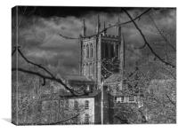 Hereford Cathedral, Canvas Print