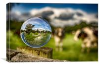 From Grass To Glass, Canvas Print