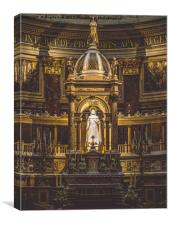 The Alter. , Canvas Print