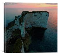 Old Harry Rock, Canvas Print