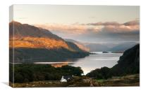 Loch Maree from Poolewe, Canvas Print