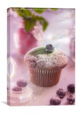 Sweet Muffin, Canvas Print