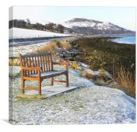 Have a seat ... enjoy the view, Canvas Print