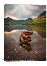 Buttermere lake, Canvas Print