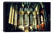 Cathedral Light, Canvas Print