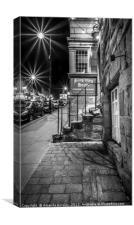 Blagraves House in Barnard Castle, Canvas Print