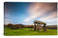 Pentre Ifan Burial Chamber Pembrokeshire, Canvas Print