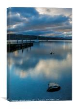 Lake Windermere from Miller Ground, Canvas Print
