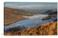 Talybont Valley Brecon Beacons National Park Wales, Canvas Print