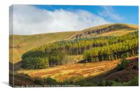 The Garw Valley South Wales, Canvas Print
