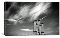 Paxton's Tower Carmarthenshire, Canvas Print