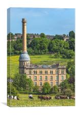 Bliss Tweed Mill,Chipping Norton, Canvas Print
