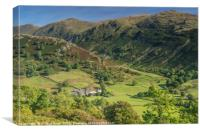 Troutbeck Valley Lake District, Canvas Print