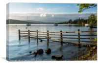 Windermere from Miller Ground Lake District, Canvas Print