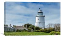 The Old Lighthouse on St Agnes, Canvas Print