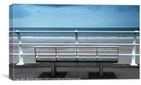 The Seafront at Aberavon south Wales, Canvas Print