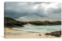 Clachtoll Bay North West Scotland, Canvas Print