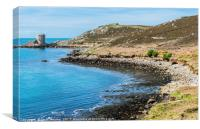 Cromwell's Castle Tresco Isles of Scilly , Canvas Print