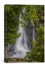Aber Falls at Abergwyngregyn North Wales, Canvas Print