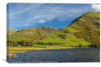 Hartsop Dodd across Brothers Water Lake District, Canvas Print