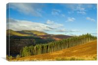 Waun Rydd Brecon Beacons National Park , Canvas Print