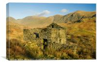 Abandoned Barn Upper Troutbeck Valley Lake Distric, Canvas Print