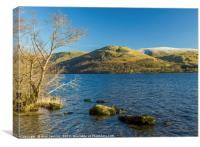View across Ullswater Lake District, Canvas Print