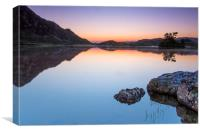 Sunrise over Llyn Cregenin, Canvas Print