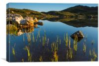 Cregenin Reflections, Canvas Print