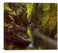 The Fairy Glen, Canvas Print