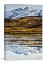 Mountain Reflections, Canvas Print