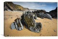 Marloes Sands, Pembrokeshire, Wales UK, Canvas Print
