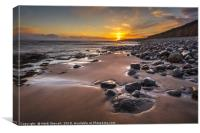 Llantwit Major Beach, Canvas Print